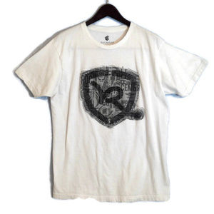 Rocawear White Tee Shirt with Large Graphic Logo